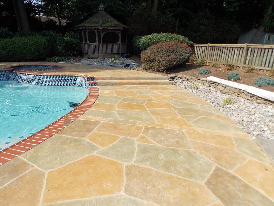 Stamped Concrete Dallas, TX: Pool Decks, Driveways, Patios