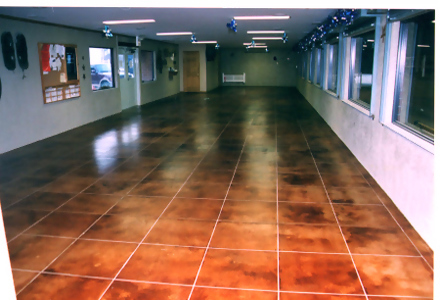 concrete refinishing