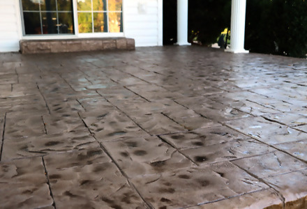 stamped concrete dallas