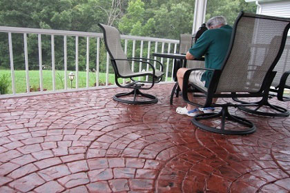 concrete patio resurfacing dallas