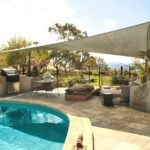 pool decking canoopy